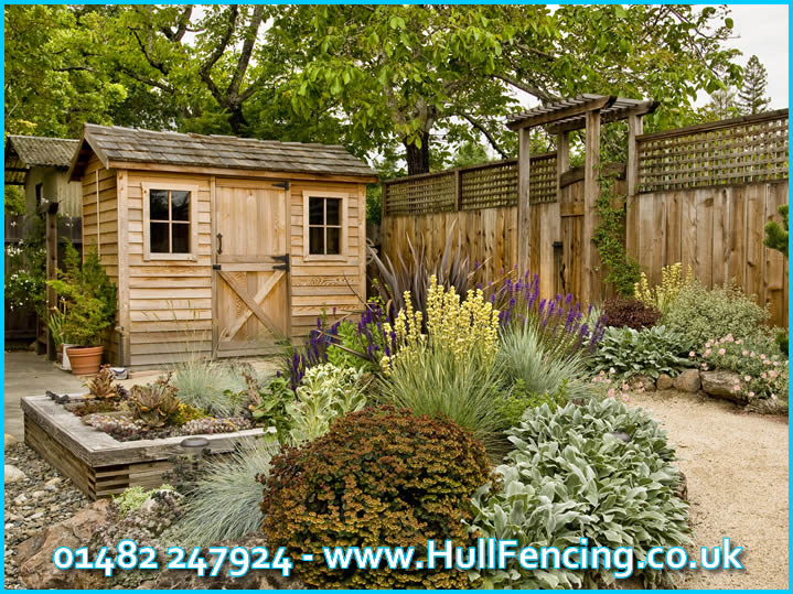 sheds in hull
